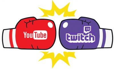 YouTube vs Twitch! Как Вы думаете, кто победит?
