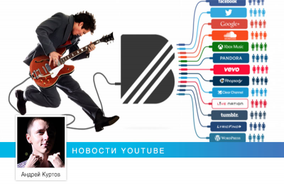 YouTube купил американский стартап для музыкантов BandPage