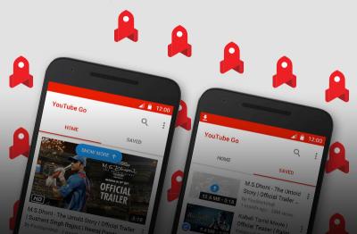 Новые пометки для рекламы и YouTube Go