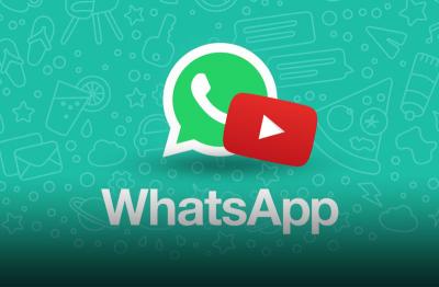 YouTube начал интеграцию в WhatsApp