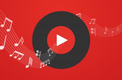 Музыкальная библиотека YouTube как по нотам