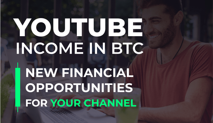 YouTube income in BTC    FinTech MeetUp by AIR Media-Tech