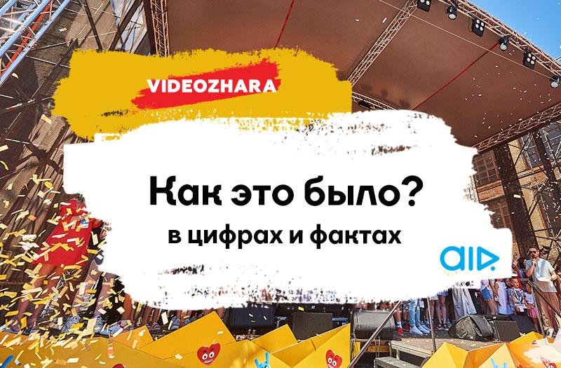 VIDEOZHARA 2019: как это было. В цифрах и фактах