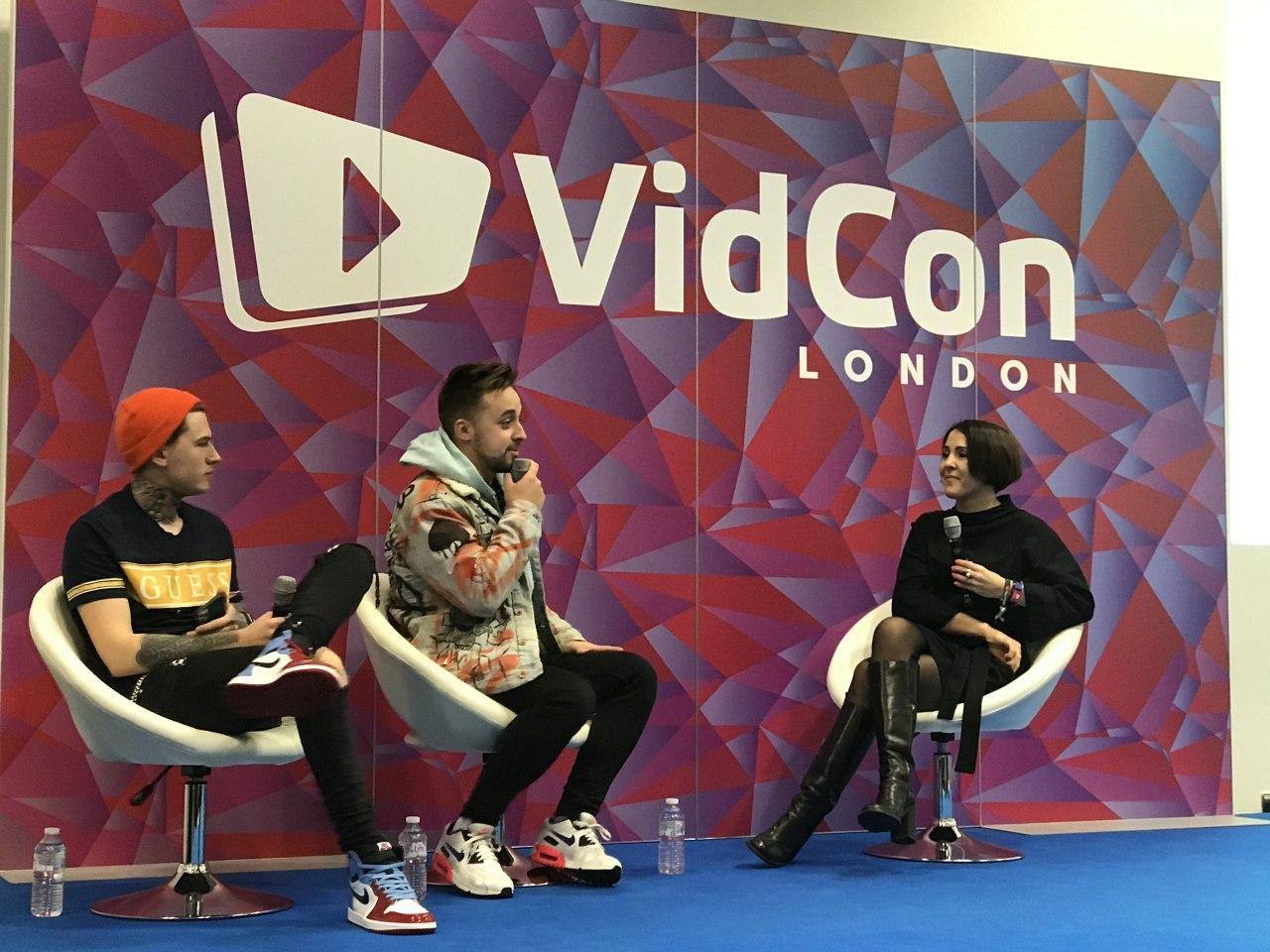 AIR на VidCon London: триумфальный дебют