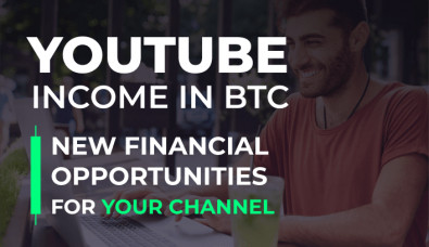 YouTube income in BTC |  FinTech MeetUp by AIR Media-Tech