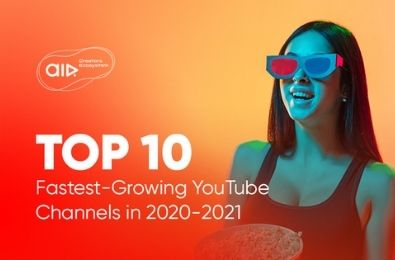TOP 10 Fastest-Growing YouTube Channels in 2020-2021
